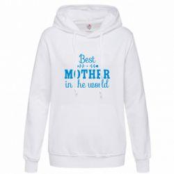 Толстовка жіноча Best mother in the world