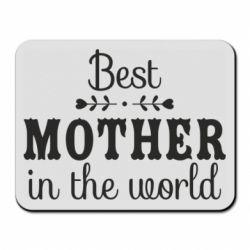 Килимок для миші Best mother in the world