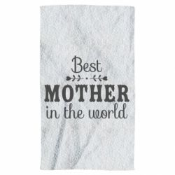 Рушник Best mother in the world