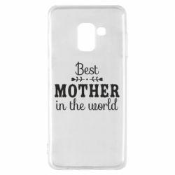 Чохол для Samsung A8 2018 Best mother in the world