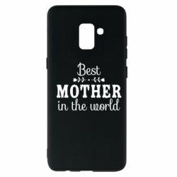 Чохол для Samsung A8+ 2018 Best mother in the world