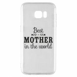 Чохол для Samsung S7 EDGE Best mother in the world