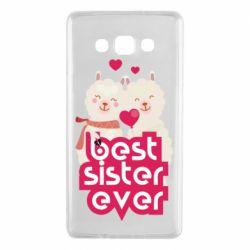 Чохол для Samsung A7 2015 Best sister ever