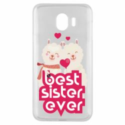 Чохол для Samsung J4 Best sister ever