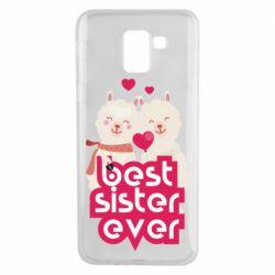Чохол для Samsung J6 Best sister ever