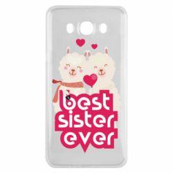 Чохол для Samsung J7 2016 Best sister ever
