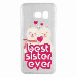 Чохол для Samsung S6 EDGE Best sister ever
