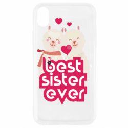 Чохол для iPhone XR Best sister ever