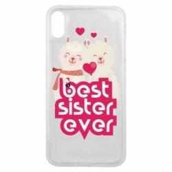 Чохол для iPhone Xs Max Best sister ever