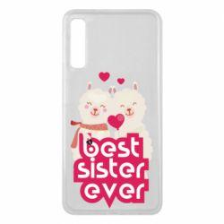 Чохол для Samsung A7 2018 Best sister ever
