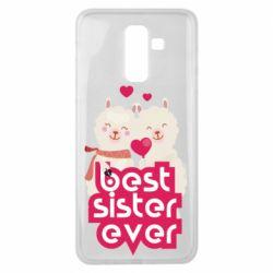 Чохол для Samsung J8 2018 Best sister ever