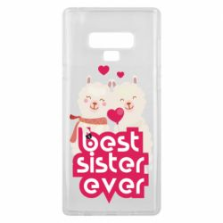 Чохол для Samsung Note 9 Best sister ever