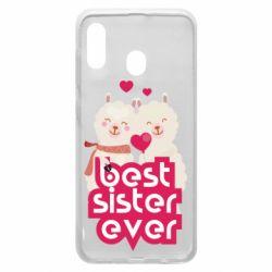 Чохол для Samsung A20 Best sister ever