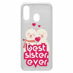 Чохол для Samsung A40 Best sister ever