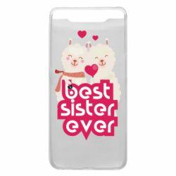 Чохол для Samsung A80 Best sister ever