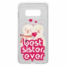 Чохол для Samsung S10e Best sister ever