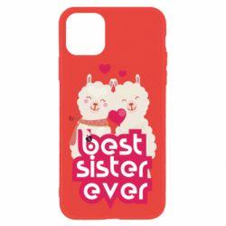 Чохол для iPhone 11 Best sister ever