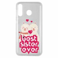 Чохол для Samsung M30 Best sister ever