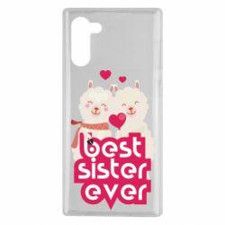 Чохол для Samsung Note 10 Best sister ever
