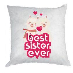Подушка Best sister ever