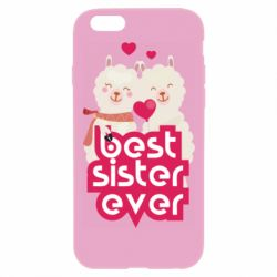 Чохол для iPhone 6 Plus/6S Plus Best sister ever