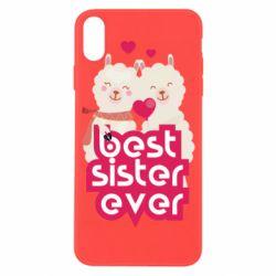 Чохол для iPhone X/Xs Best sister ever