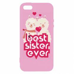 Чохол для iphone 5/5S/SE Best sister ever