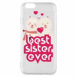 Чохол для iPhone 6/6S Best sister ever