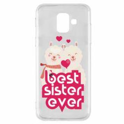 Чохол для Samsung A6 2018 Best sister ever