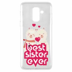 Чохол для Samsung A6+ 2018 Best sister ever