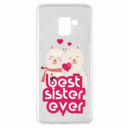 Чохол для Samsung A8+ 2018 Best sister ever