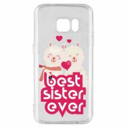 Чохол для Samsung S7 Best sister ever