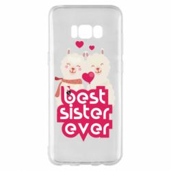 Чохол для Samsung S8+ Best sister ever