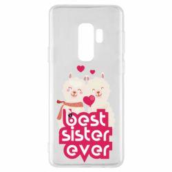 Чохол для Samsung S9+ Best sister ever