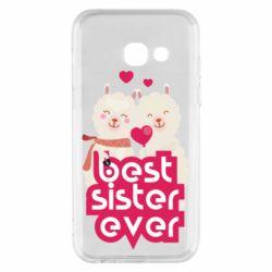 Чохол для Samsung A3 2017 Best sister ever