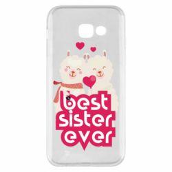 Чохол для Samsung A5 2017 Best sister ever