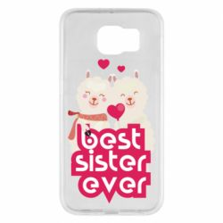 Чохол для Samsung S6 Best sister ever