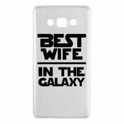 Чехол для Samsung A7 2015 Best wife in the Galaxy