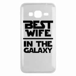 Чохол для Samsung J3 2016 Best wife in the Galaxy