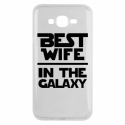 Чохол для Samsung J7 2015 Best wife in the Galaxy