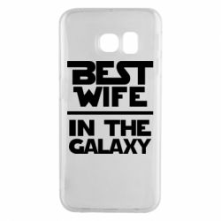 Чохол для Samsung S6 EDGE Best wife in the Galaxy
