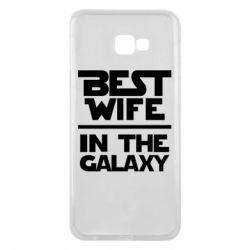 Чехол для Samsung J4 Plus 2018 Best wife in the Galaxy