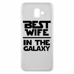 Чохол для Samsung J6 Plus 2018 Best wife in the Galaxy