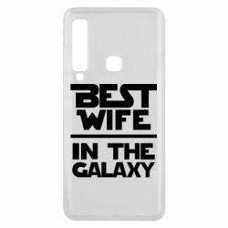Чехол для Samsung A9 2018 Best wife in the Galaxy