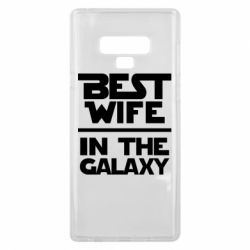 Чохол для Samsung Note 9 Best wife in the Galaxy