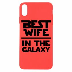 Чохол для iPhone X/Xs Best wife in the Galaxy