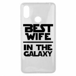 Чехол для Xiaomi Mi Max 3 Best wife in the Galaxy