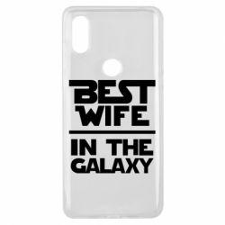 Чехол для Xiaomi Mi Mix 3 Best wife in the Galaxy
