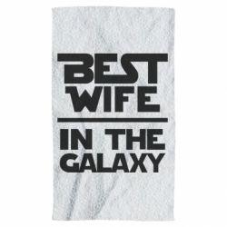 Полотенце Best wife in the Galaxy