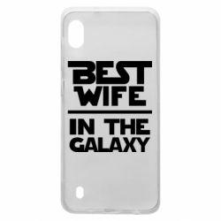 Чехол для Samsung A10 Best wife in the Galaxy